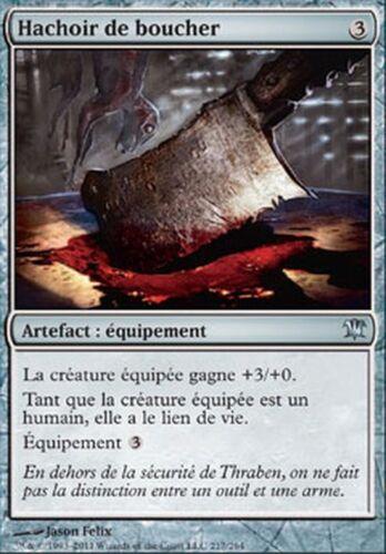 Butcher/'s Cleaver Innistrad FRENCH #217 ▼▲▼ 4x Hachoir du boucher