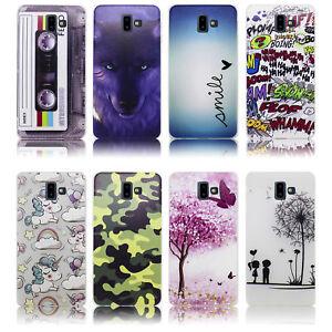 Samsung-Galaxy-J6-PLUS-Huelle-Silikon-Smartphone-Handy-Huelle-Schutz-Huelle-Cas