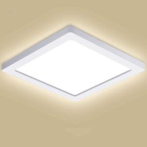 Plafoniera-lampada-soffitto-parete-LED-24W-potenza-250W-luce-4000K-SALONE-CUCINA