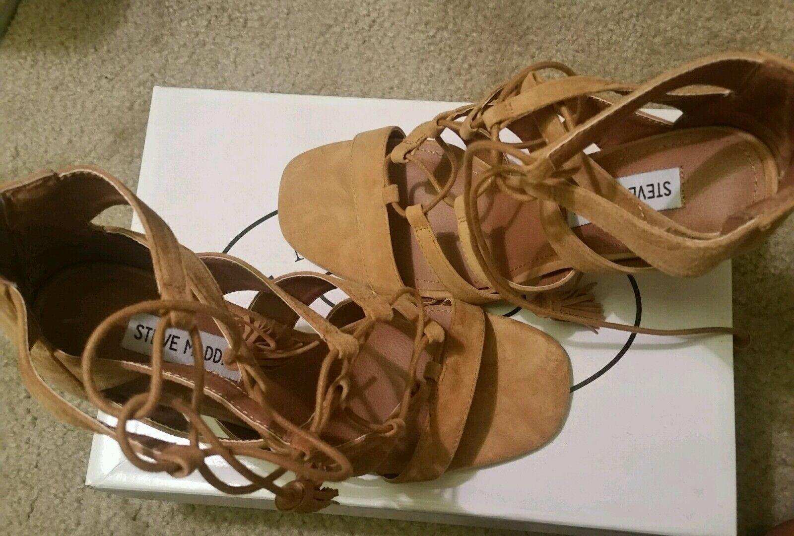 NEW Steve Madden Brown 8.5 Heels Heels 8.5 5dea17