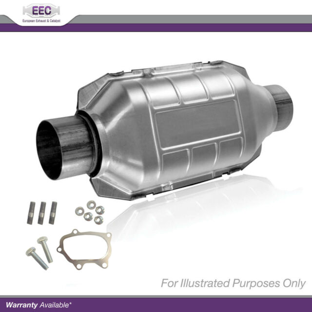Genuine EEC Type Approved Exhaust Manifold Cat Catalytic Converter + Fitting Kit