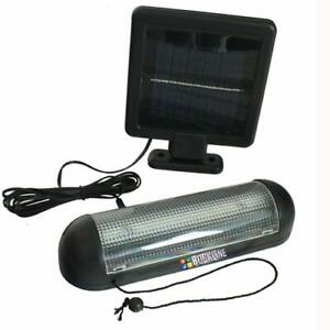 ROCKLINE-10-LED-SOLAR-POWER-GARDEN-SHED-LIGHT-RECHARGEABLE-GARAGE-STABLE-FIXINGS