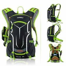 18L Outdoor Travel Cycling Shoulder Backpack Hydration Water Bag /Rain Cover