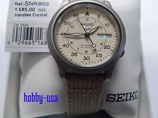 SEIKO  5   SNK803 GRAY  Dial  SEIKO  Automatic  NEW  SNK803-NEW