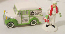 Dept 56 Snow Village Home Delivery Set of 2 Milkman and Truck #5162-4