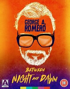 GEORGE-A-ROMERO-Between-Night-and-Dawn-Blu-ray-Set-Arrow-Collector-039-s-Edition