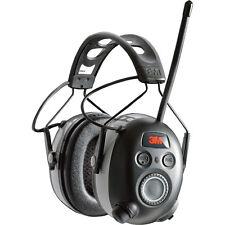 3M WorkTunes Black Wireless Hearing Protector Bluetooth & AM/FM Radio  90542-3DC