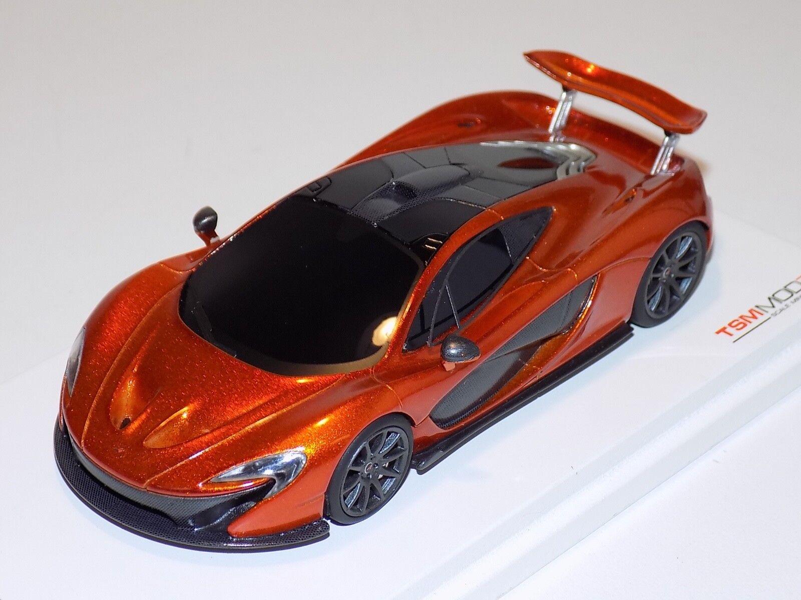 1 43 TRUE SCALE MODELS TSM McLaren P1 Paris Auto Show 2012 Race Mode TSM134321