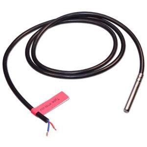 KTY81-210-Temperaturfuhler-1-amp-2-Meter-PVC-Kesselfuhler-Speicherfuhler-Heizung