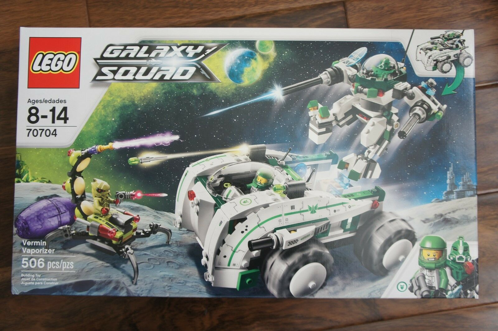 NEW Lego Galaxy Squad VERMIN VAPORIZER  pcs