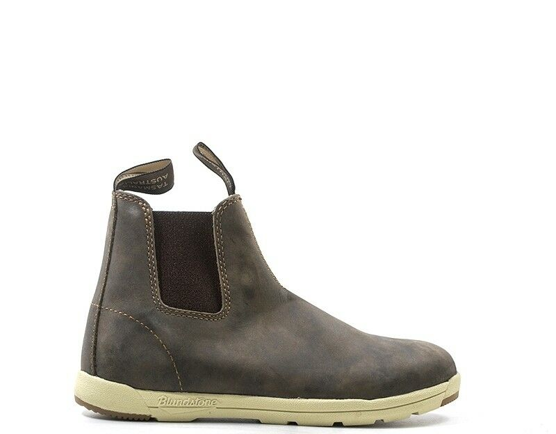 zapatos azulNDSTONE mujer Tronchetti Bassi  marrón Pelle naturale BCCAL0324-1429S BCCAL0324-1429S BCCAL0324-1429S  ventas calientes