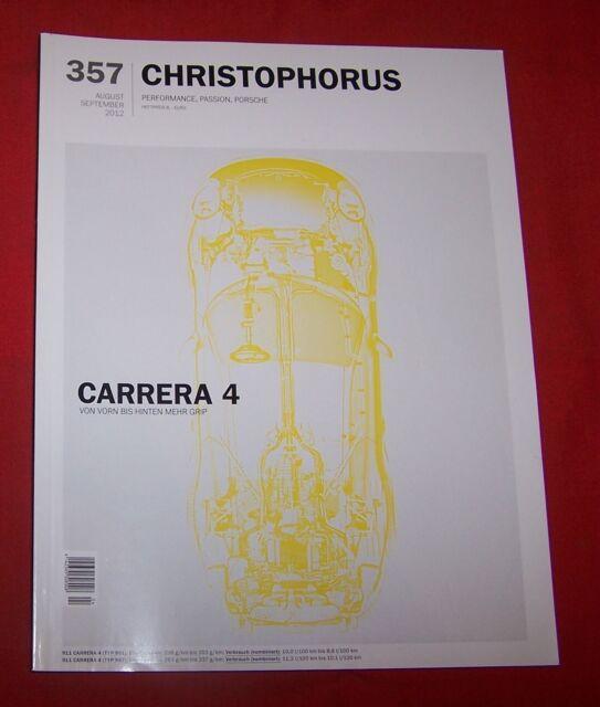 Porsche Magazin Christophorus Nr 357 - 2012 , TOP
