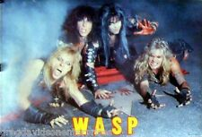 W.A.S.P 23x33 Hollywood Group Poster 1984 Blackie Lawless WASP