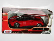 Motor Max - PAGANI HUAYRA (Red) - Model Scale 1:24