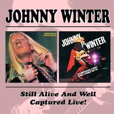 Johnny Winter - Still Alive And Well / Captured Live, 2CD Neu