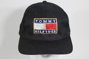 9800c5f6 Image is loading Deadstock-Vintage-TOMMY-HILFIGER-Snapback-Hat-Tommy-Gear-
