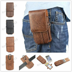 Luxury-Leather-Wallet-Carry-Waist-Pouch-Bag-Sleeve-Belt-Card-Clip-Case-Cover