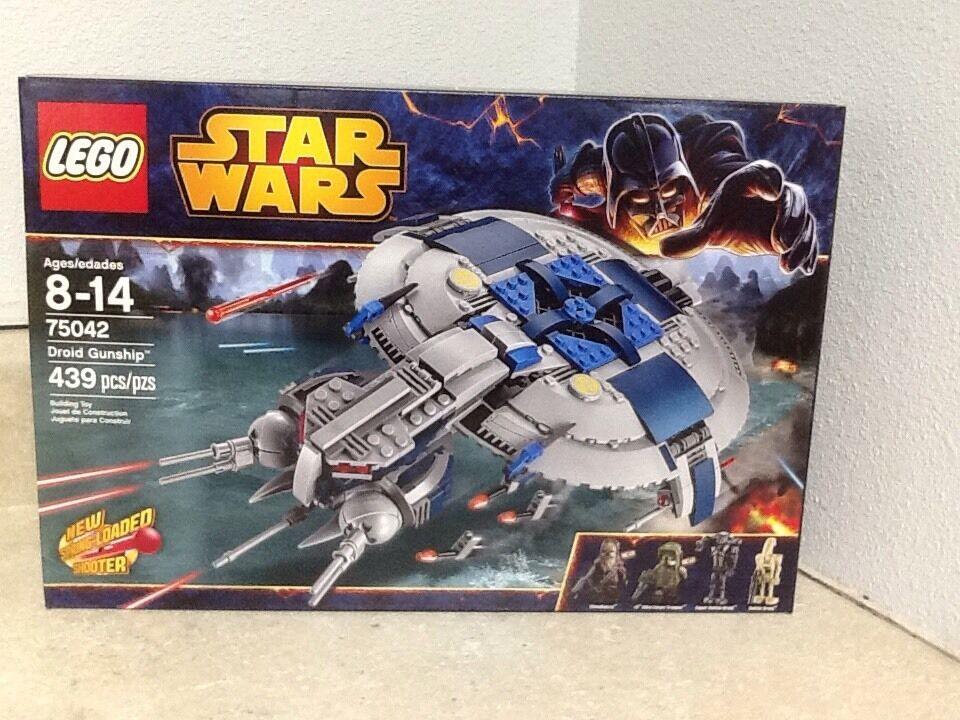 Lego Star Wars Droid Gunship 75042 With 4 Minifigs Retirot 2014