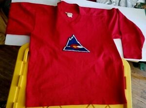 newest 89864 1d119 Details about COLORADO ROCKIES VINTAGE HOCKEY JERSEY. COOPER / RUPP'S XL  MADE IN CANADA. NHL