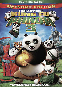 Kung Fu Panda 3 (DVD, 2016)