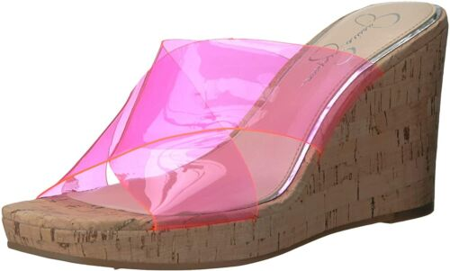Details about  /Jessica Simpson Women/'s Seena Wedge Sandal