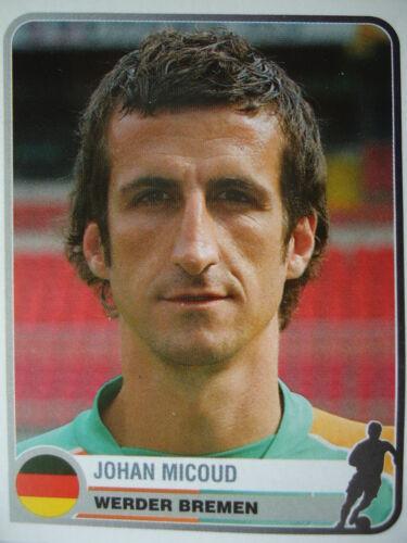 Panini 376 Johan Micoud Werder Bremen Champions Europe 1955-2005