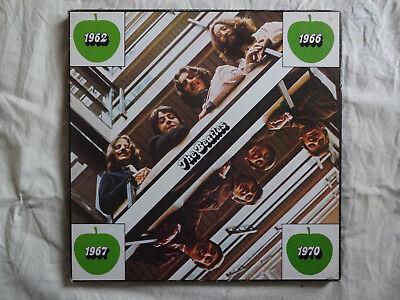THE BEATLES 4-LP-Box 1962-1966/1967-1970 - France 1981
