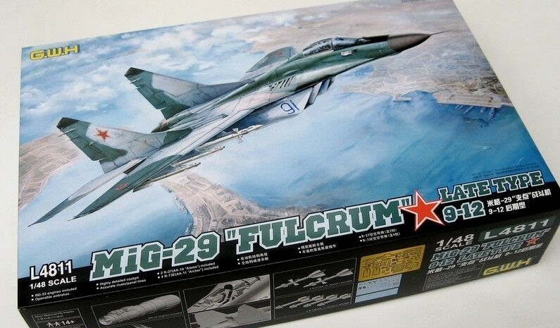 GreatWall 1 48 L4811 Russian Mig-29  Fulcrum   9-12 Late Type