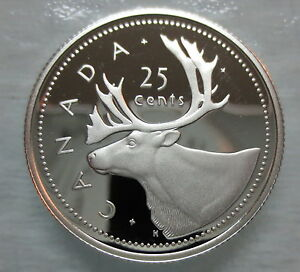 2002-CANADA-25-CENTS-PROOF-SILVER-QUARTER-HEAVY-CAMEO-COIN