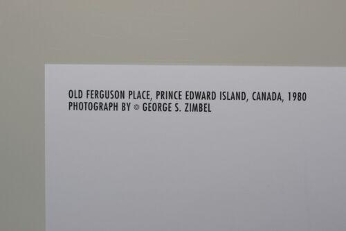 Kunst-Postkarte ZIMBEL: OLD FERGUSON PLACE 1980 GEORGE S