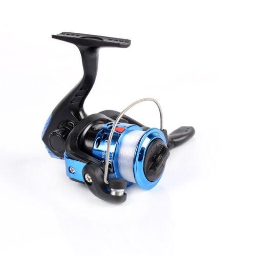 Spinning Fishing Reel Carretel Molinete Para Pesca High Speed G-ratio 5.2:1