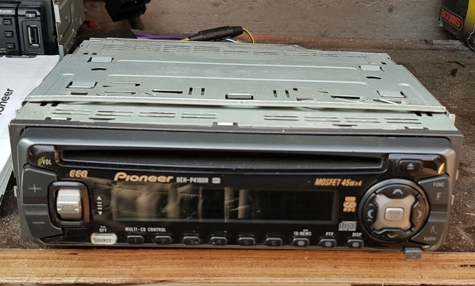 Pioneer, CD/MP3