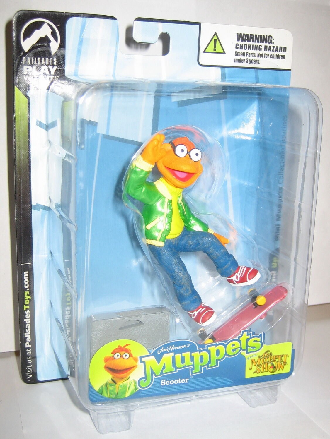 The Muppet Show Scooter Palisades Mini Figure Sealed Mailer