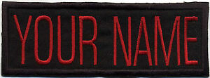 Custom-VIDEO-style-Ghostbusters-Name-Tag-Patch-with-a-Hook-backing-034-YOUR-NAME-034