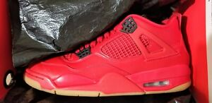 size 40 c01e9 1d7fc Image is loading Jordan-4-Retro-Fire-Red-Singles-Day-2018-