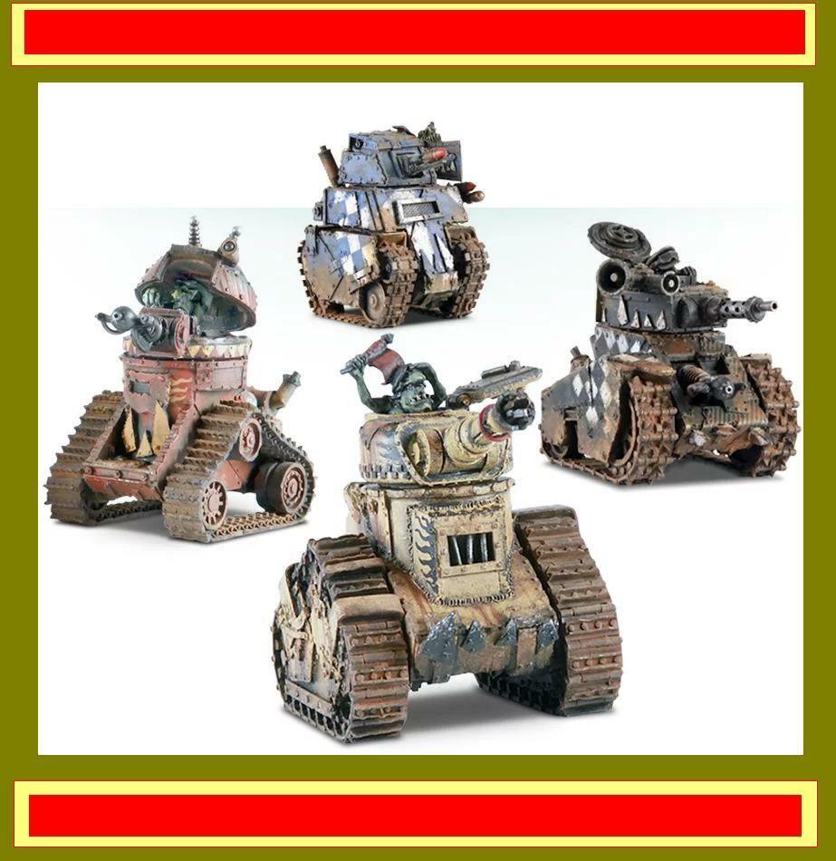 Nouveau warhammer 40 40,0000 Grouge Tanks Bundle  lot 87  acheter pas cher neuf