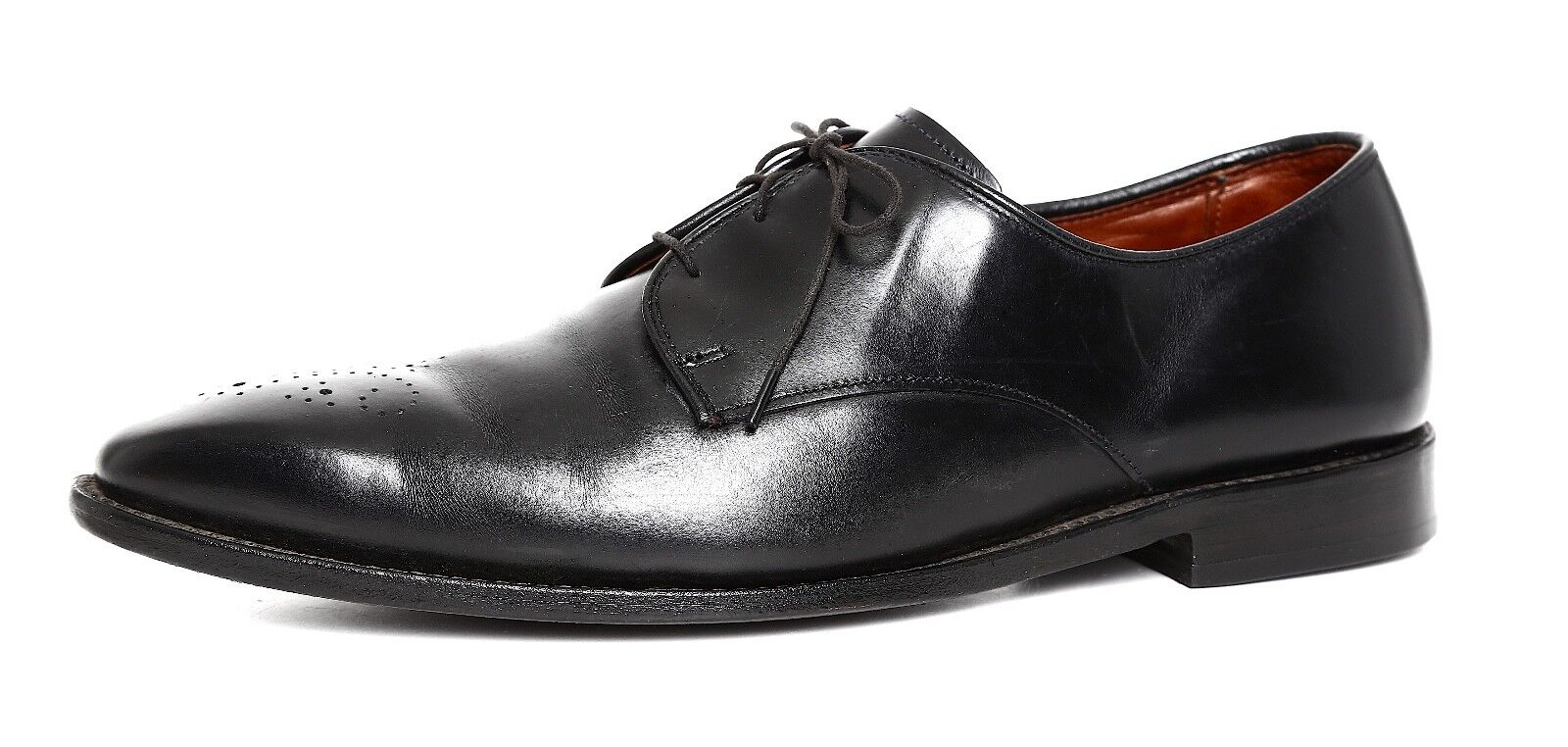 Allen Edmonds Flatiron Leather Oxford Black Men Sz 12 D 1699