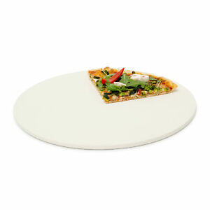 Pizzastein rund Brotstein Flammkuchenstein Pizzateller Steinplatte Brotbackstein