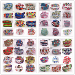 5Yards-25mm-1-034-Grosgrain-DIY-Cartoon-Printed-Pattern-Ribbon-Crafts