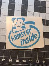 Hamster Inside Vinyl Decal Sticker Kia Soul