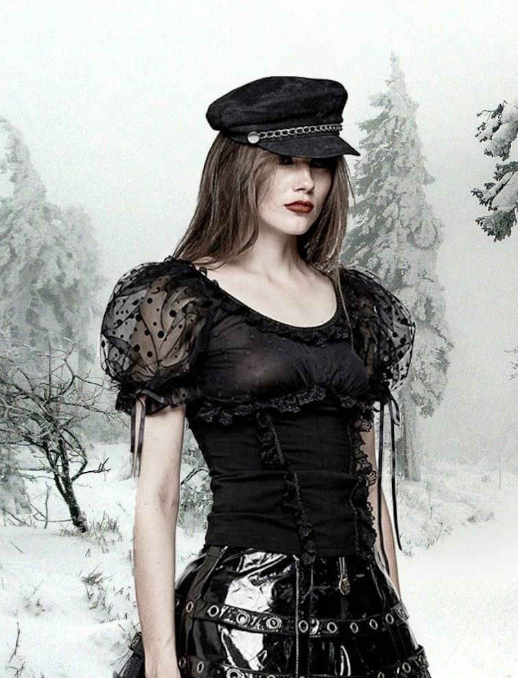 Gothic Steampunk Punk Rave Rave Rave Lolita NEO Victorian visual kei Top Shirt 36 38 40 42 bdfa59