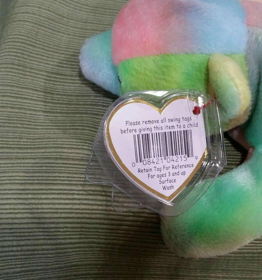 Ty Beanie Baby Sammy the Ty-Dye Ty-Dye Ty-Dye Bear Spelling Error  GASPORT , Retired & New 6c1d4f