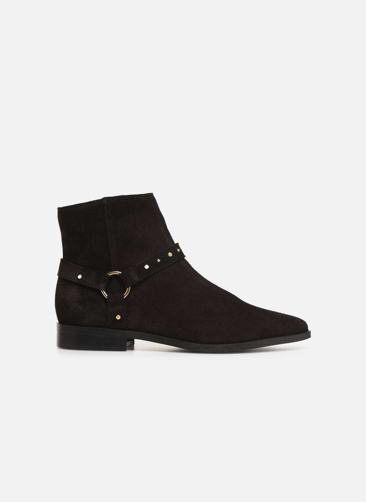 Mujer Vero Moda Vmvivi Leather bota Botines Negro
