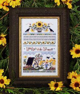 Sunflower Street Sampler - The Victoria Sampler New Chart