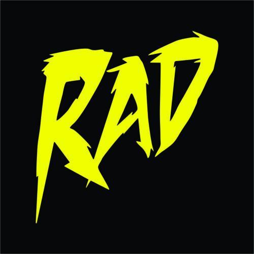 Rad Vinyl Decal Pack Sticker 2 TWO