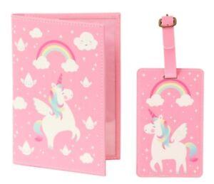 Rainbow-Unicorn-Luggage-Tag-Passport-Holder-Pink-Sass-Belle
