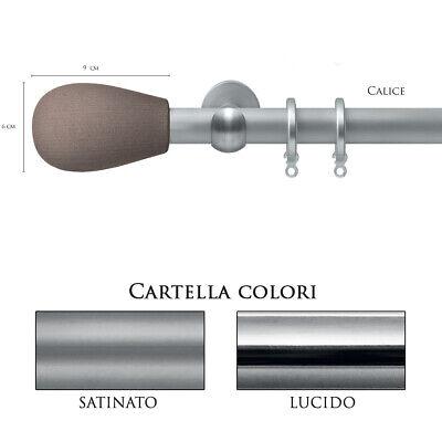 Onverdroten Scorritenda Bastone Per Tenda Alluminio Strappo Corda Con Anelli Calice Vami Een Verrijkt En Voedingsstof Voor De Lever En De Nieren