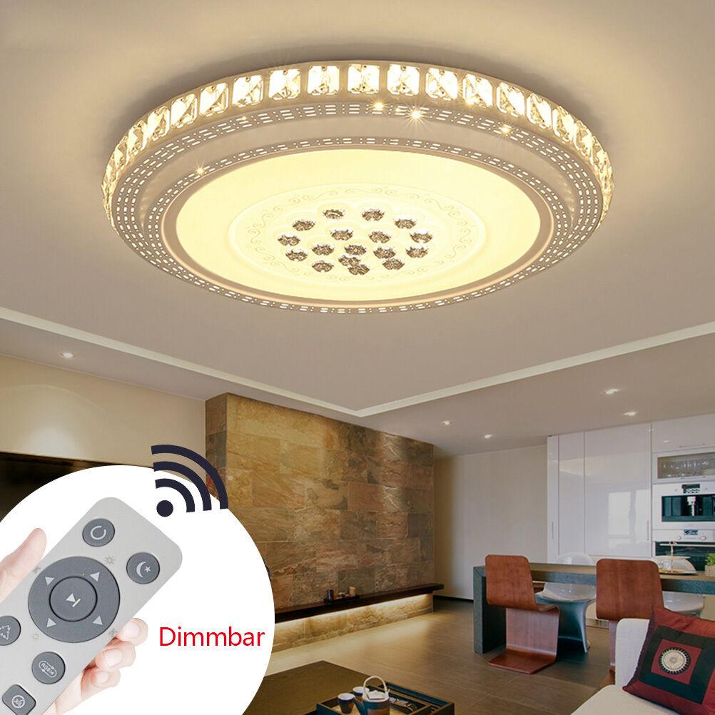 24w 90w led kristall deckenleuchte deckenlampe badleuchte for Deckenlampe schlafzimmer