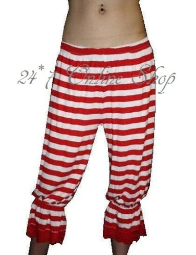 USA Flag Stars And Stripes Long Bloomers Halloween Theme Fancy Dress Costume