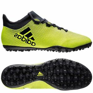 f9cb63f57 adidas X 17.3 Tango TF Turf 2017 Soccer Shoes Yellow / Black Kids ...